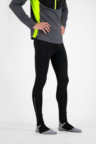 Spodnie do biegania BANKS - czarne
