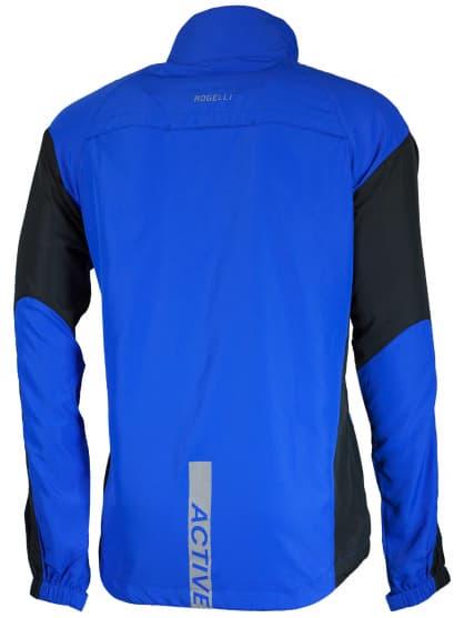 Wiatrówka do biegania Rogelli DRUMMOND, niebiesko-czarna