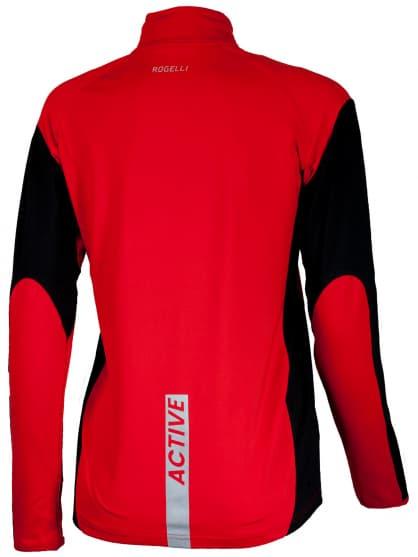Sportowa bluza Rogelli ELKA damska, czerwono-czarna