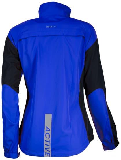 Wiatrówka do biegania Rogelli ELVI damska, niebiesko-czarna