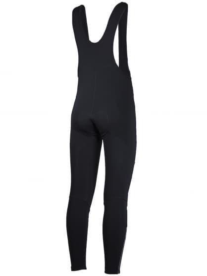 Softshellowe spodnie rowerowe Rogelli FONDO z wkładką żelową, czarne