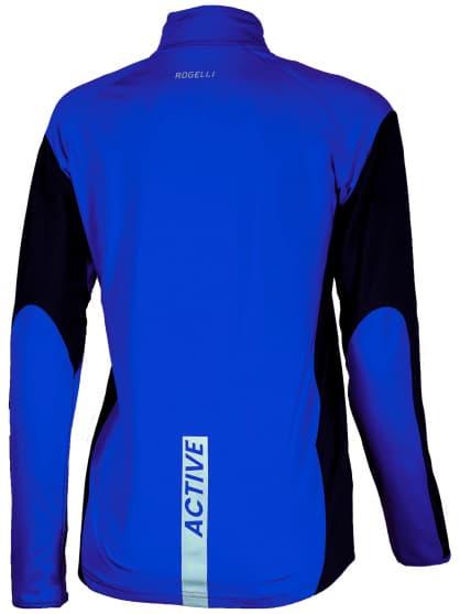 Sportowa bluza Rogelli ELKA damska, niebiesko-czarna