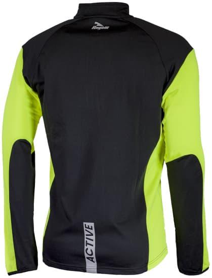 Funkcjonalna odzież do biegania Rogelli D-MEN, żółta odblaskowa