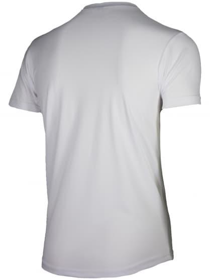 Funkcjonalna koszulka Rogelli PROMOTION dziecięca, biała