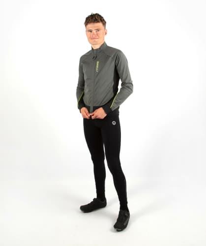 Ocieplane spodnie rowerowe Rogelli TAVON, czarne