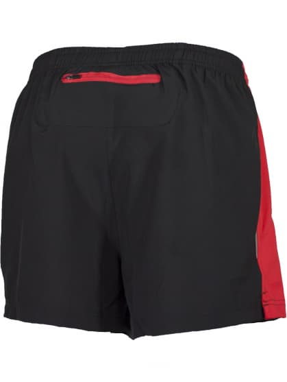 Szorty do biegania Rogelli TARANTO, czarno-czerwone