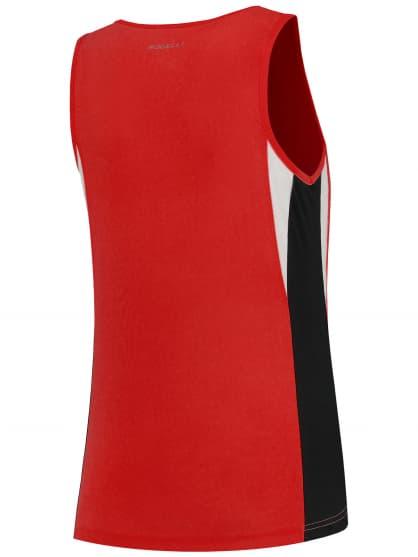 Funkcjonalny podkoszulek Rogelli ESTY damski, czerwono-czarno-biały