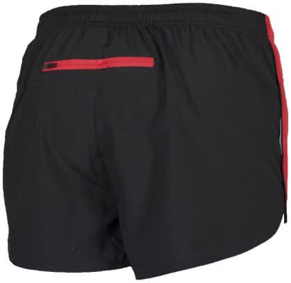 Szorty do biegania Rogelli FIRENZE, czarno-czerwone