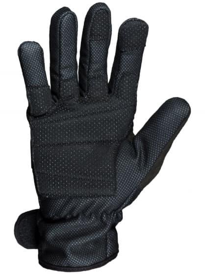 Cienkie zimowe rękawiczki z membraną i wkładką wewnątrz dłoni ALBERTA 2.0, czarne