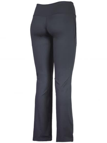 Spodnie do fitnessu Rogelli FADYA damskie, czarne