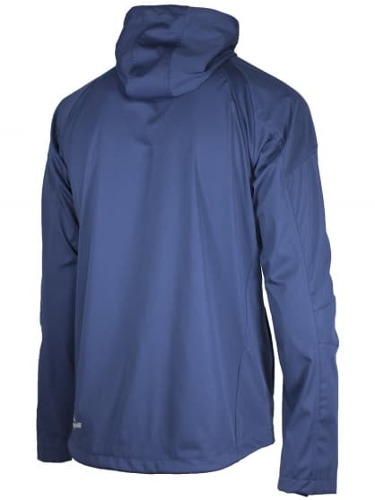 Softshellová bunda voľného strihu pre celoročné nosenie Rogelli MAIPO, modrá