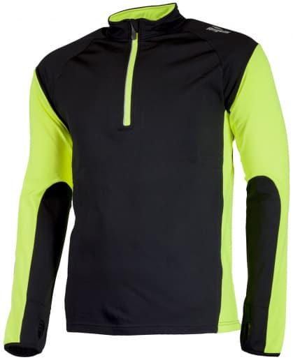 Funkcjonalna odzież do biegania Rogelli D-MEN, żółto-czarna odblaskowa