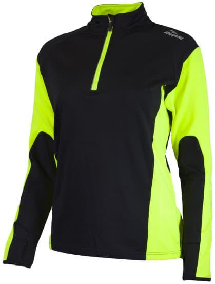 Funkcjonalna odzież Rogelli LADY-E damska, żółto-czarna odblaskowa