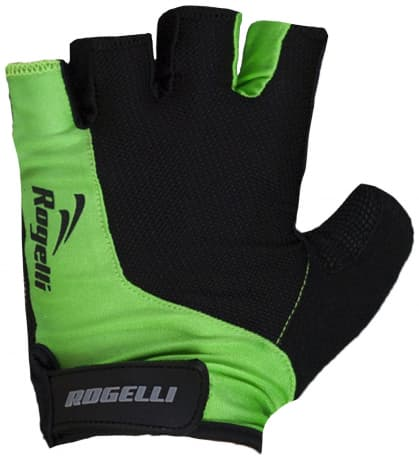 Rękawiczki rowerowe Rogelli PRESA, zielone