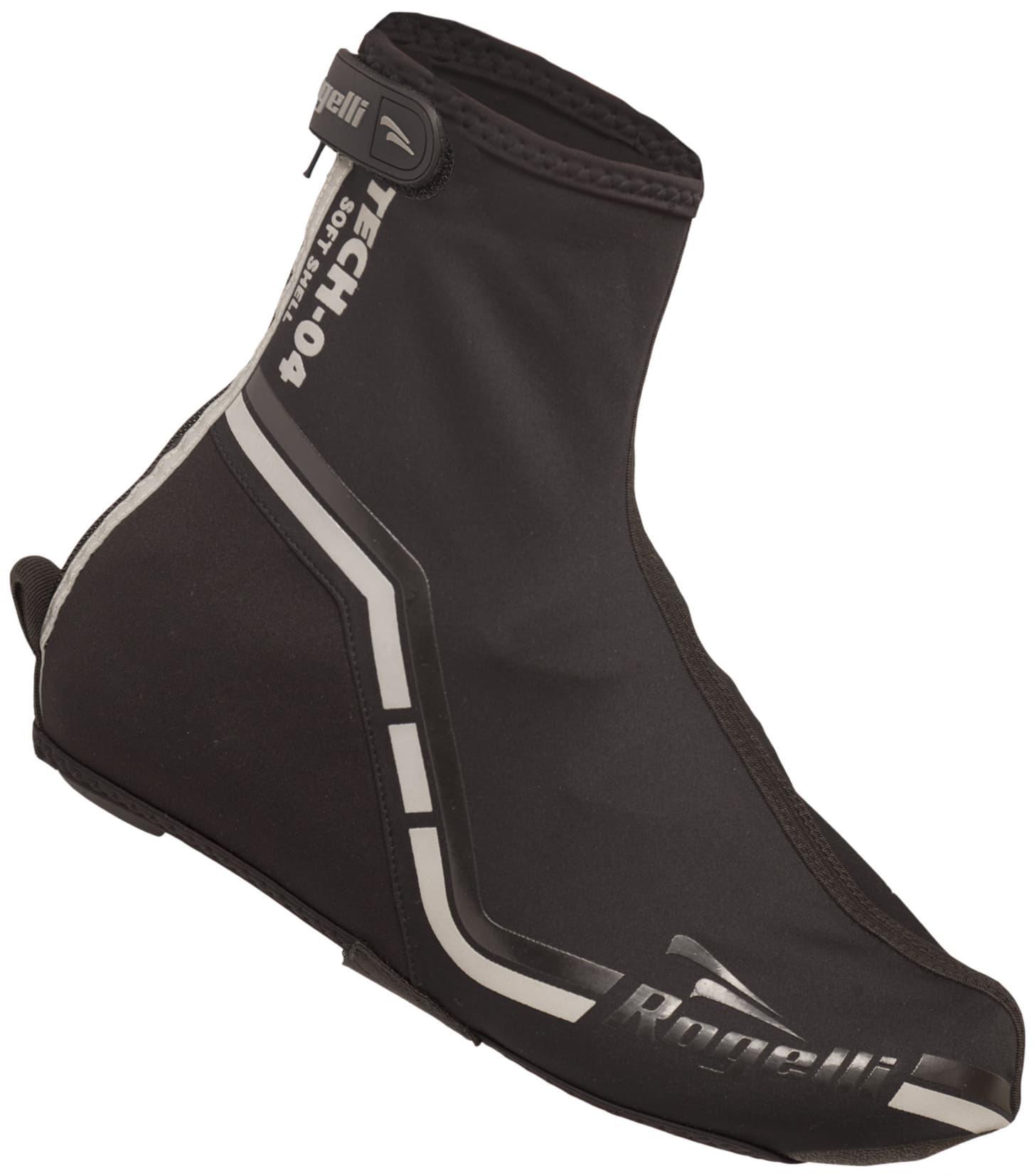 aec50662fa0d35 Przeciwdeszczowe ochraniacze rowerowe softshell na buty rowerowe Rogelli  TECH-04, czarne