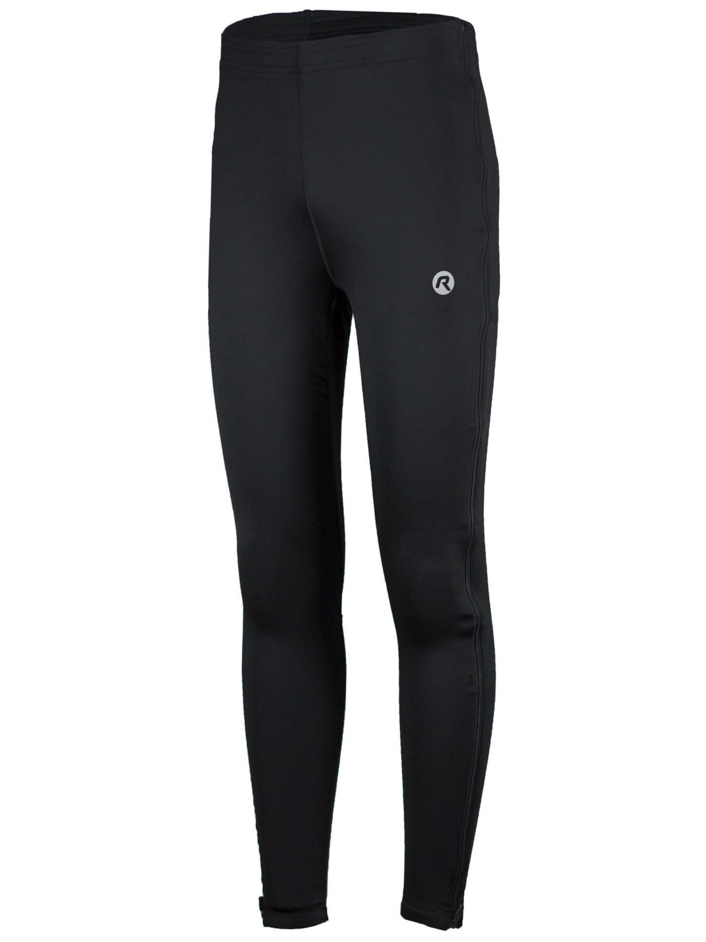 26b279d5 Elastyczne spodnie z zamkami na całej długości Rogelli BRENO, czarne ...