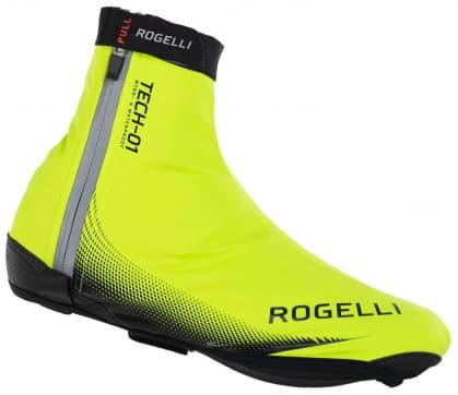 1bfea6c0f3c929 Ultralekkie przeciwdeszczowe ochraniacze kolarskie na buty rowerowe Rogelli  Fiandrex, żółte odblaskowe